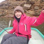 みっぴ(秋丸美帆)も大好き! 北山ダム湖のボートワカサギ釣り/佐賀県