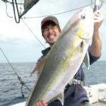 奄美大島の泳がせ釣りでカンパチ&マハタ/奄美大島(鹿児島県)