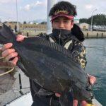 フカセ釣りで良型グレがヒット/宗像沖ノ島 西のテトラ(宗像市)