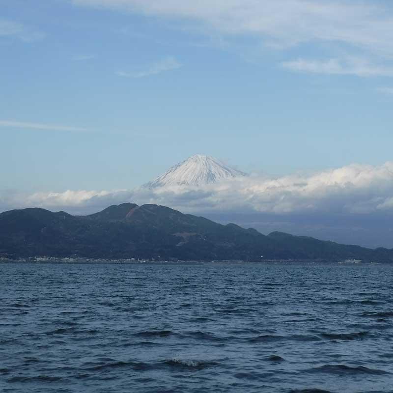 駿河湾 富士山