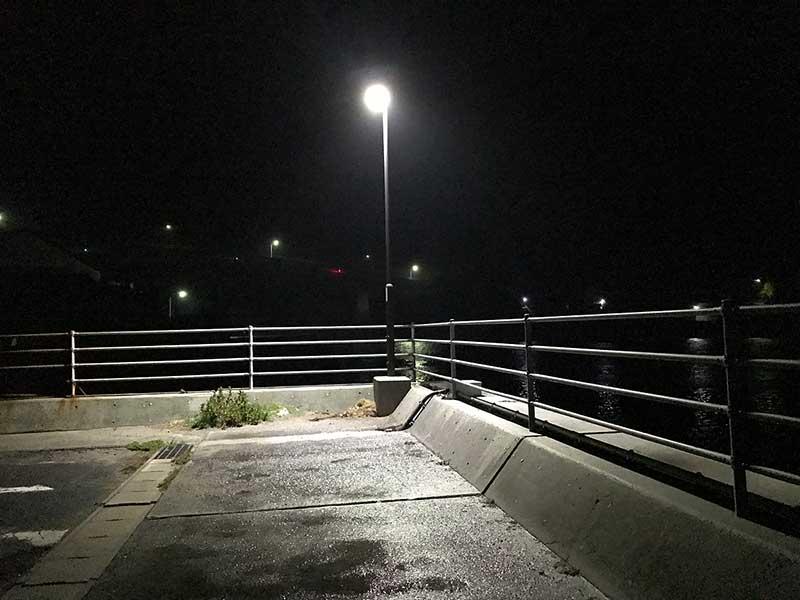常夜灯下でメバリングとアジング