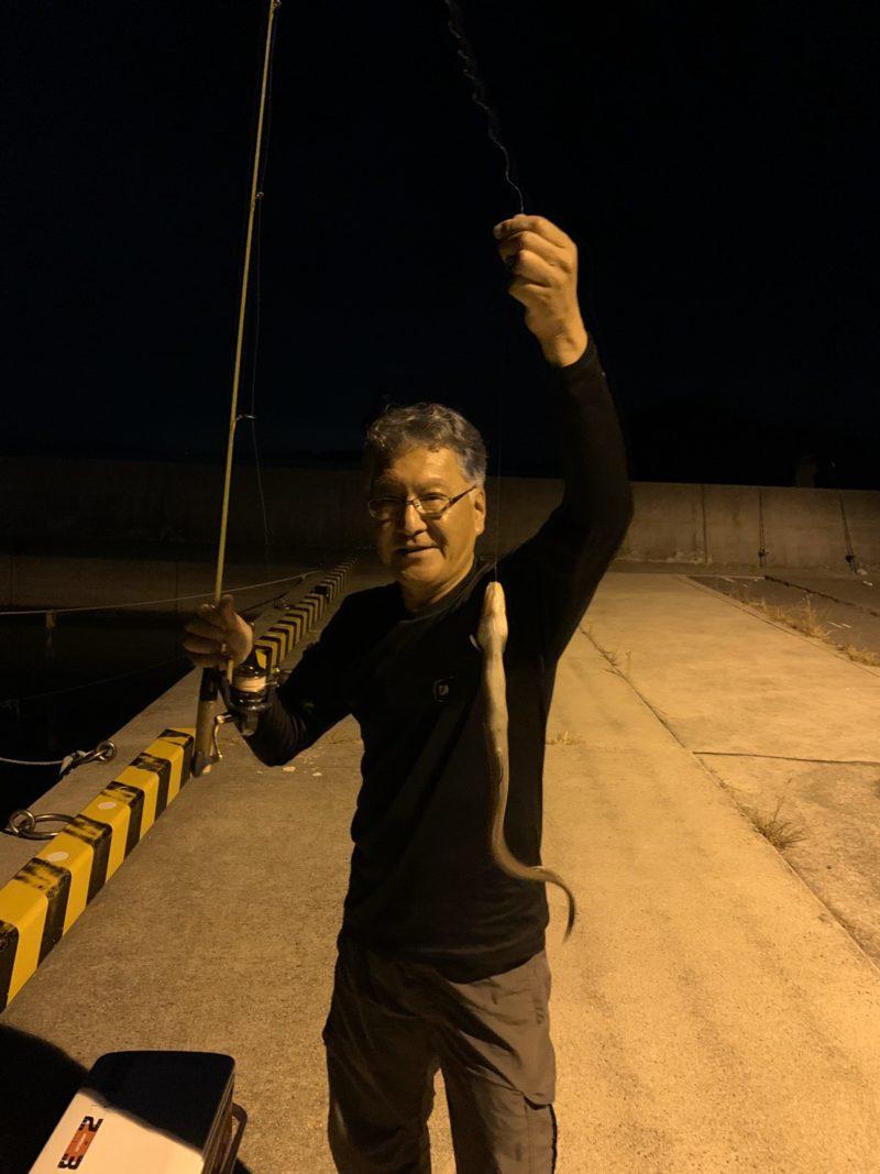 山口県 大畠漁港 アナゴ