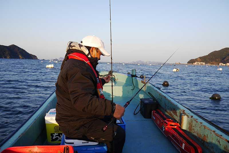 正木 釣り 準備